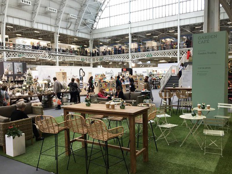 The Garden Cafe at Top Drawer London 2018