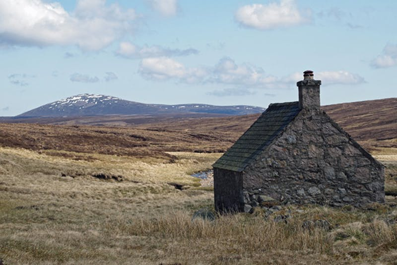 Scottish Highlands Shelter