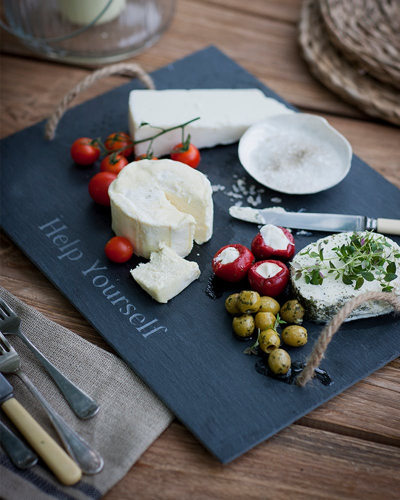 Help Yourself Slate Cheeseboard