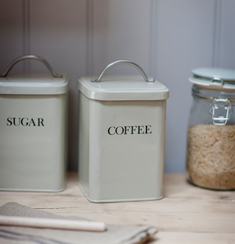 Sugar and Coffee Canisters