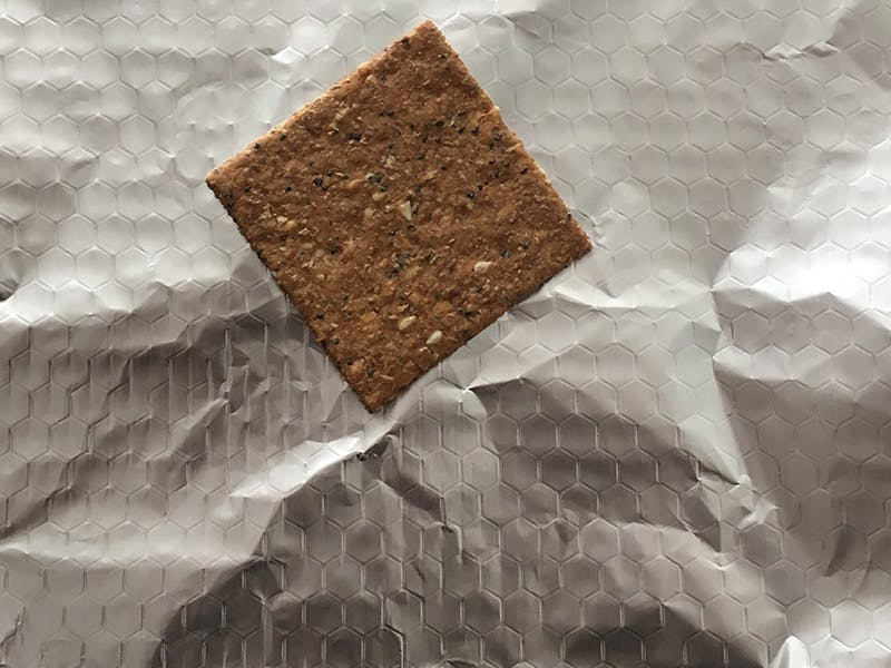 Three seeded cracker for smore base
