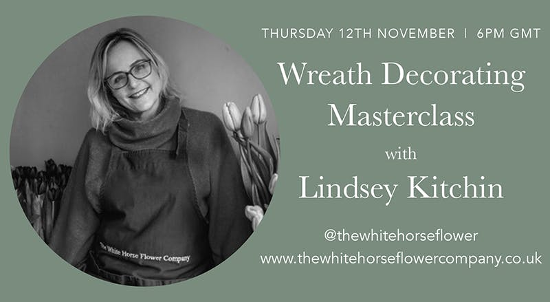 Wreath Decorating Masterclass with Lindsey Kitchin