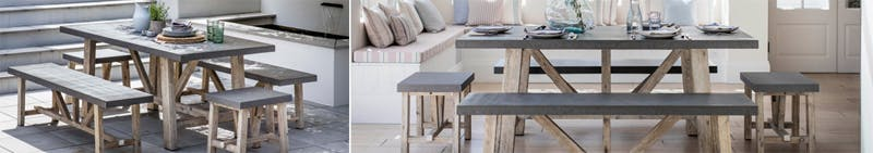 Chilson Table, Bench and Stools