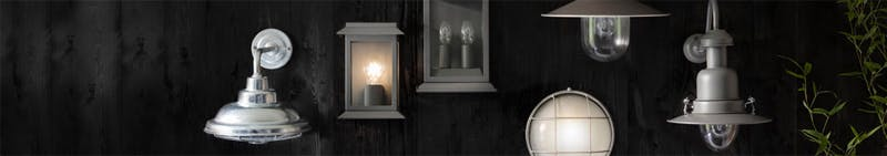 An assortment of wall-mountedlighting products