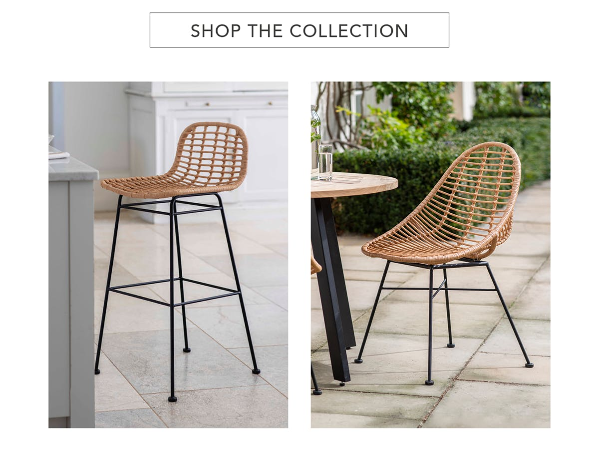 Hampstead Bar Stool & Scoop Chair