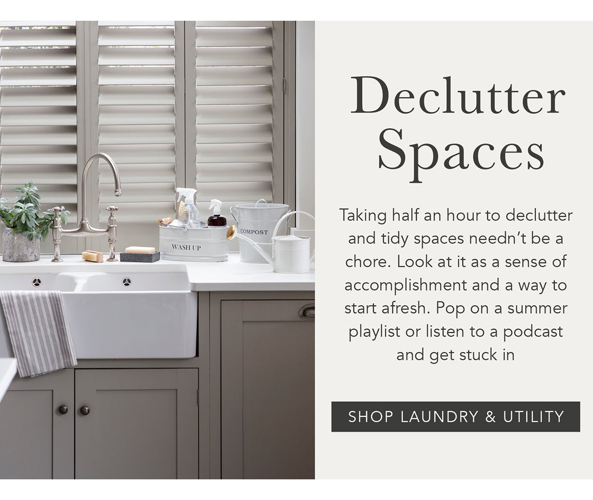 Declutter Spaces