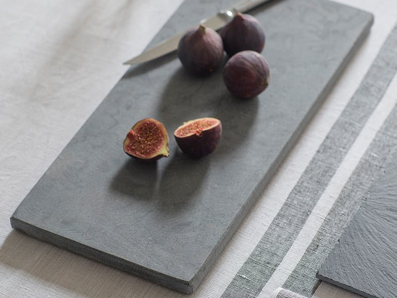 Marble Tapas Board with Figs