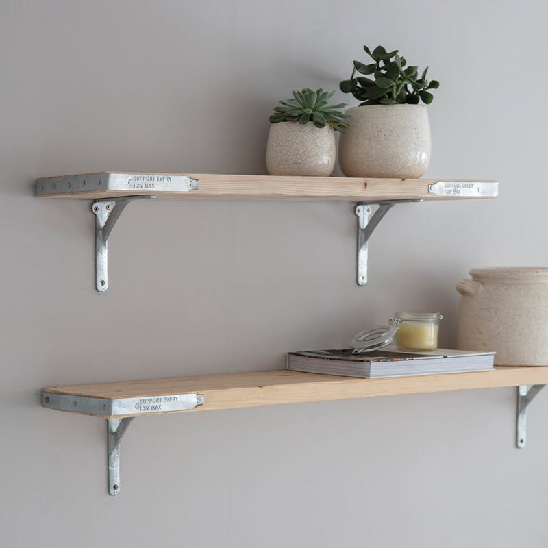 RAW Scaffold Shelves