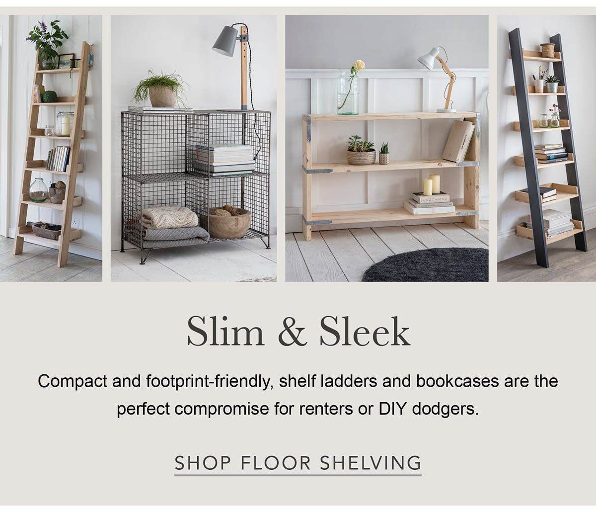 Floor Shelving