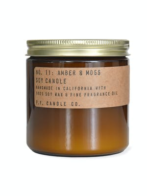 Amber and Moss Candle