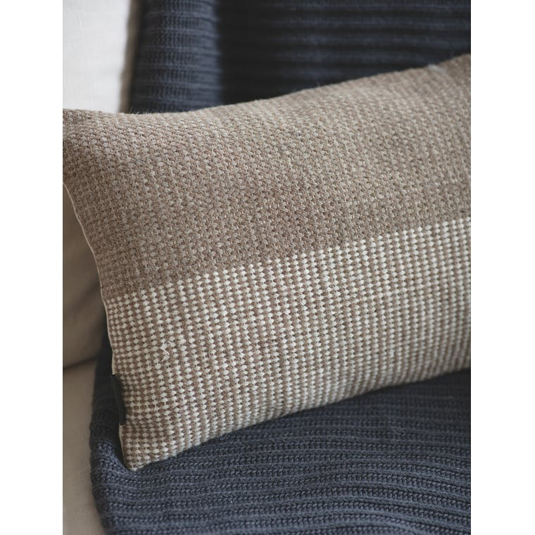 Recycled Wool Aldeburgh Cushion in 30x50cm or 45x45cm | Garden Trading