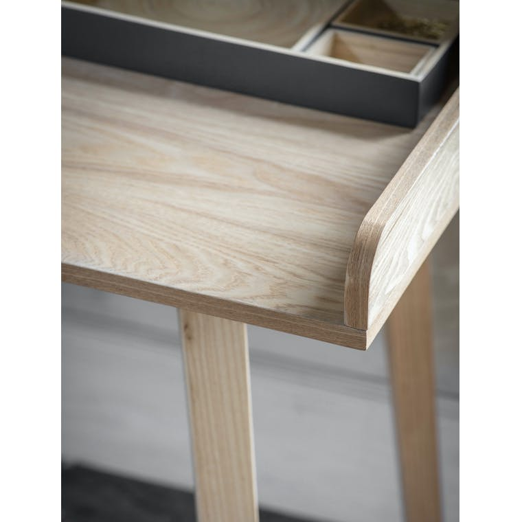Wooden Ashwicke Desk with Storage | Garden Trading