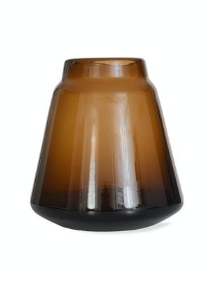 Stanway Vase  in Amber