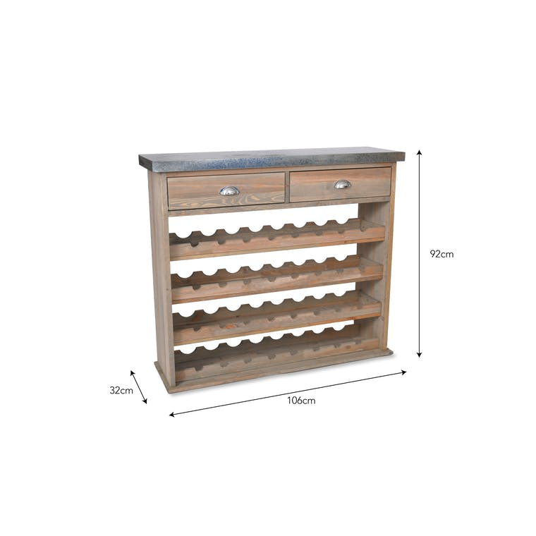 Wooden Aldsworth Wine Store | Garden Trading