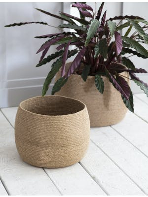 Set of 2 Rounded Baskets