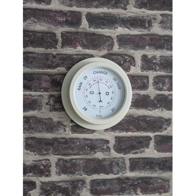 Garden Trading Lily White Tenby Barometer