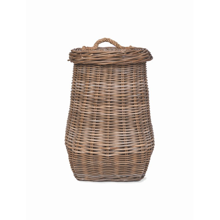 Rattan Bembridge Laundry Basket | Garden Trading