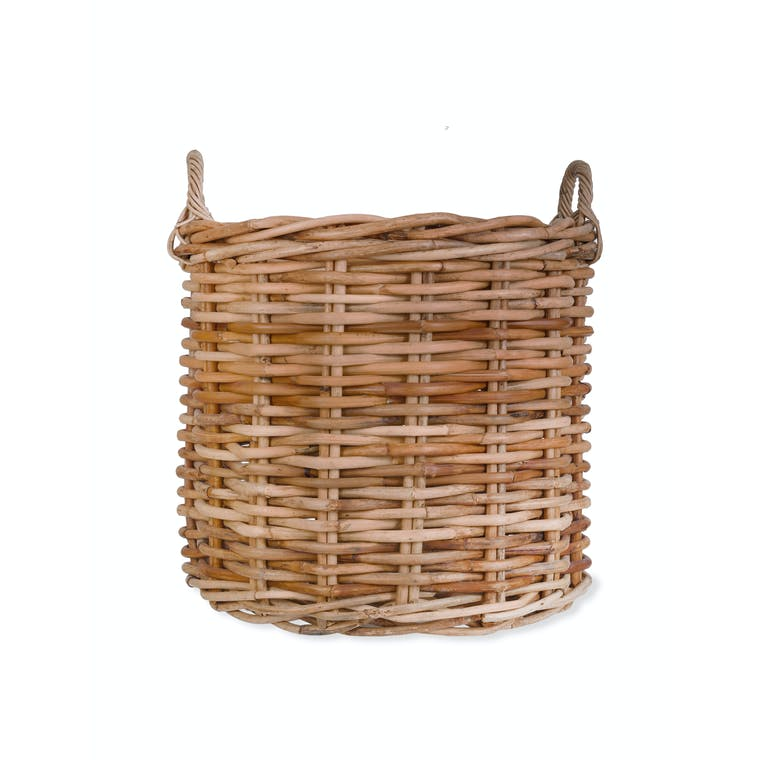 Rattan Norton Basket in Small, Large or Set of 2 | Garden Trading