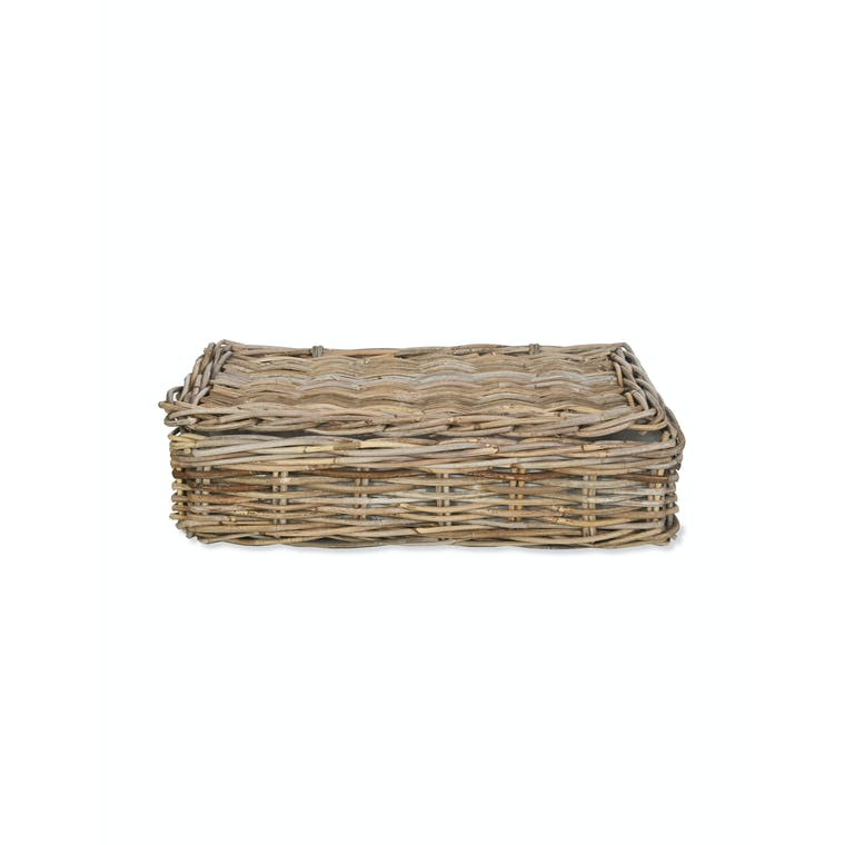 Rattan Basket with Lid in Small, Medium or Large | Garden Trading