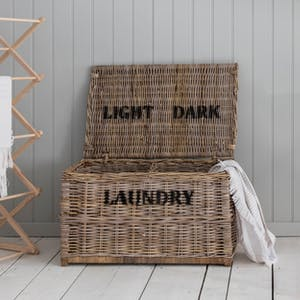 Dark & Lights Laundry Chest
