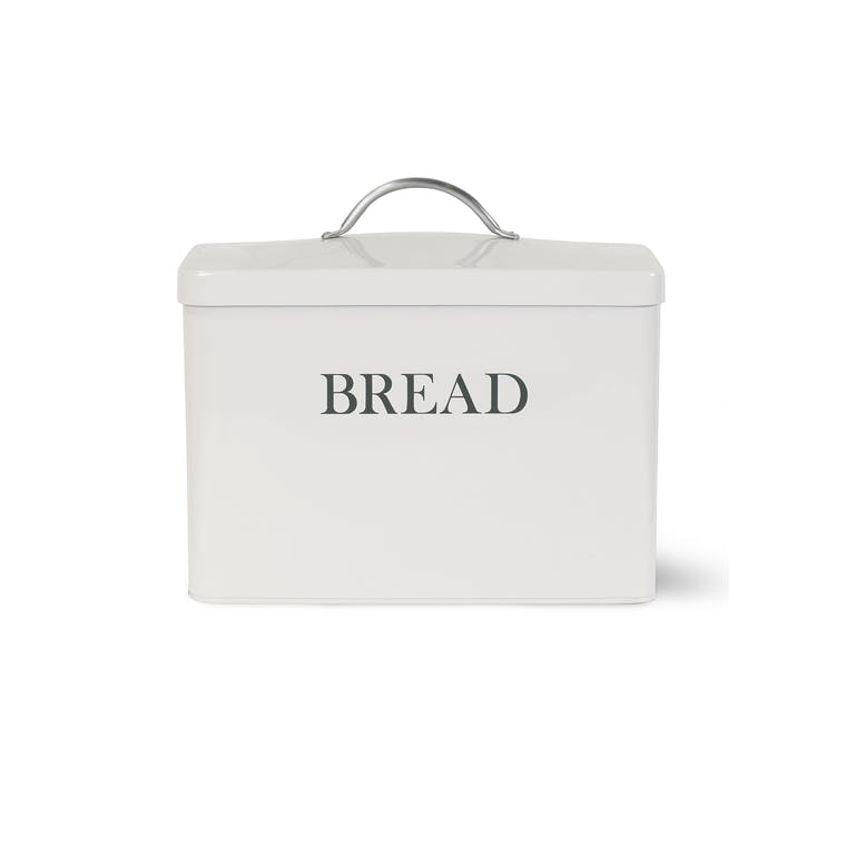Steel Bread Bin in White, Cream, Grey or Blue | Garden Trading
