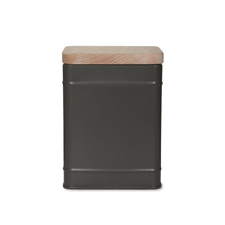 Steel Borough Canister in Grey | Garden Trading