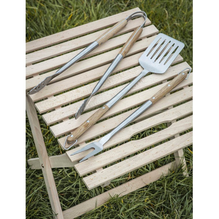 Garden Trading Set of 3 BBQ Tools