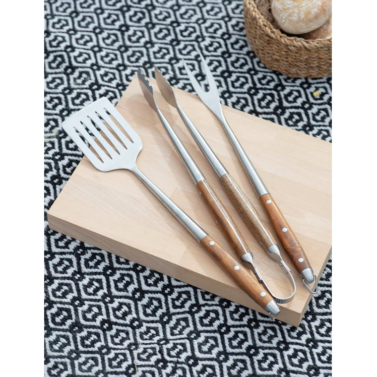 Set of 3 BBQ Tools by Garden Trading