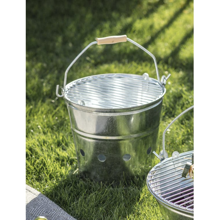 Galvanised Whitstable Barbecue  | Garden Trading