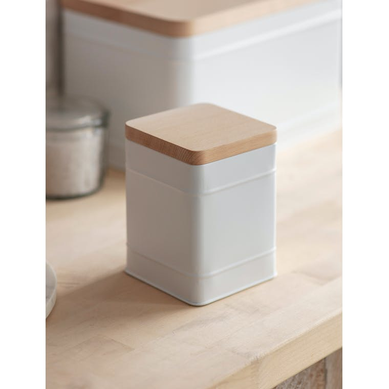 Garden Trading Borough Canister, Small in Lily White
