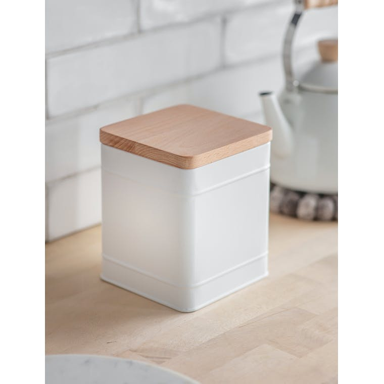 Garden Trading Borough Canister, Large in Lily White