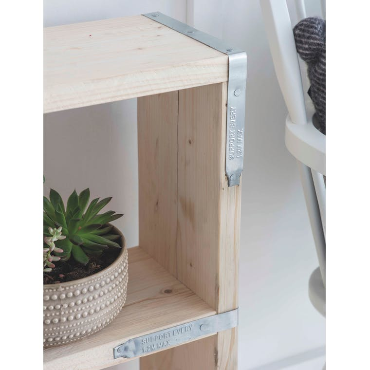 Wooden RAW Bookcase | Garden Trading