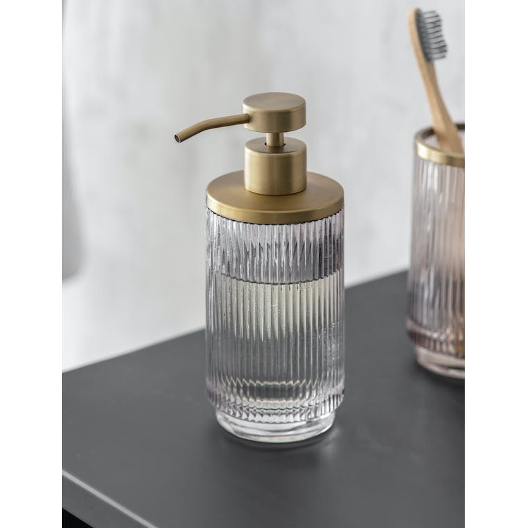 Glass Adelphi Soap Dispenser | Garden Trading
