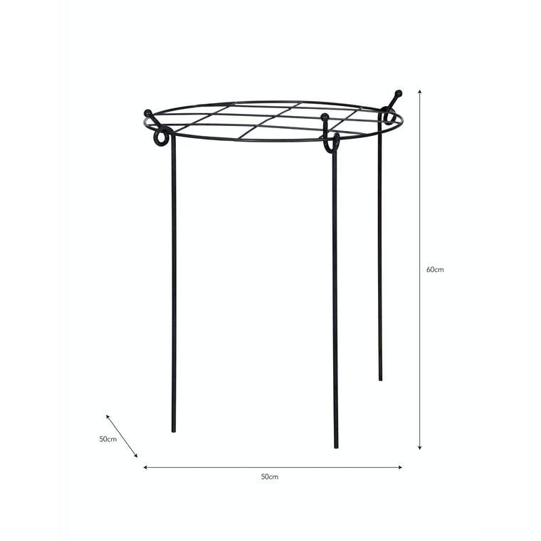 Steel Grow Through Plant Support in Small or Large | Garden Trading