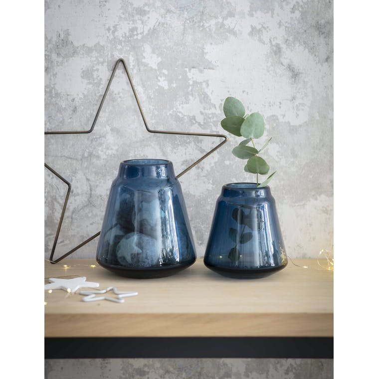 Garden Trading Small Blue Stanway Vase