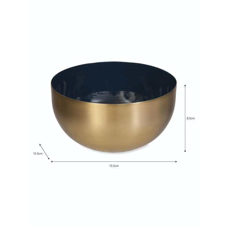 Steel Fulwell Side Bowl | Garden Trading