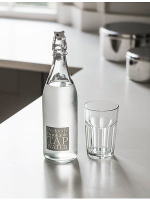 Perfectly Drinkable Tap Water Bottle