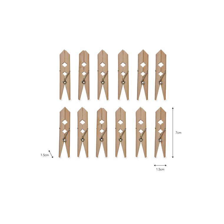 Pack of 12 Bamboo Pegs | Garden Trading