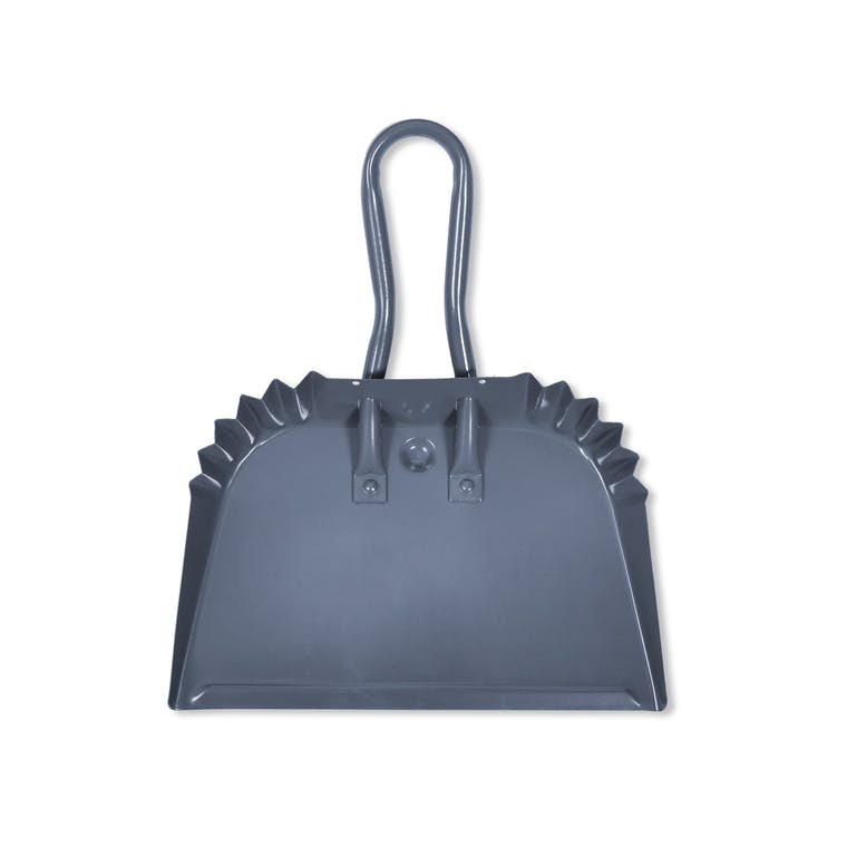 Steel Workshop Dustpan in Grey in Small  | Garden Trading