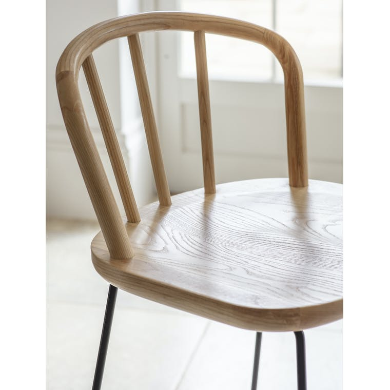 Wooden Uley Bar Stool | Garden Trading