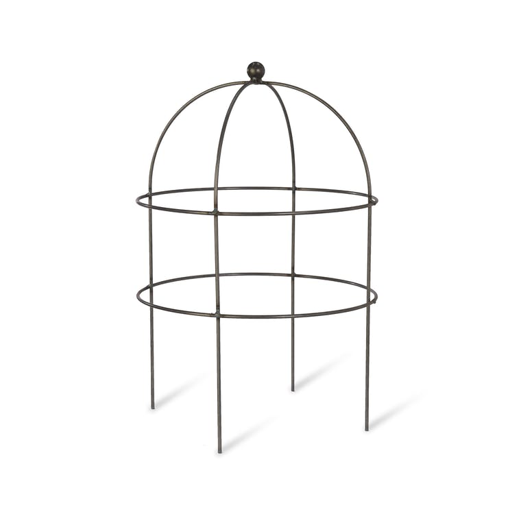 Raw Metal Domed Plant Support in Small or Large  | Garden Trading