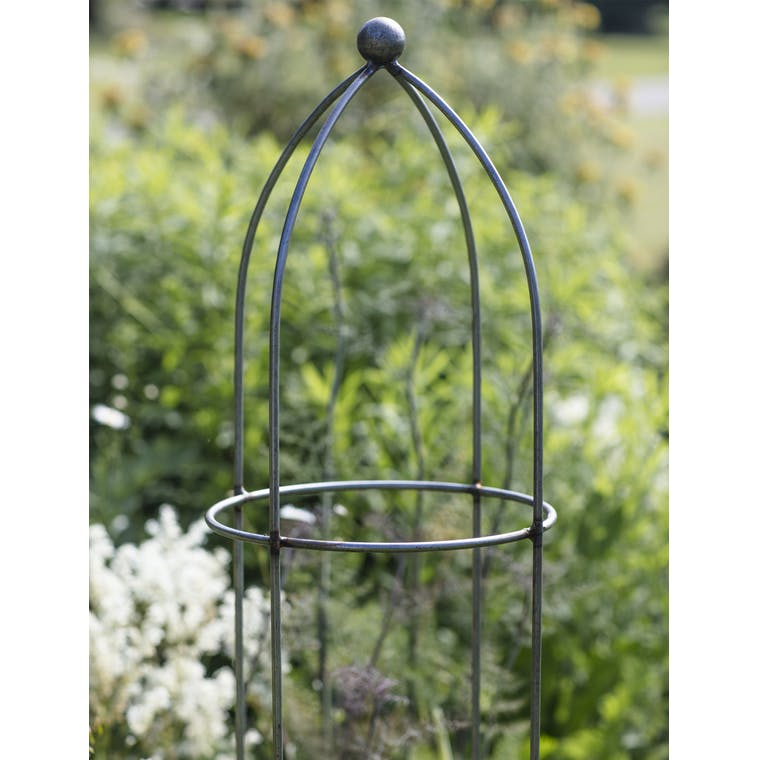 Raw Metal Plant Support in Large or Extra Large  | Garden Trading