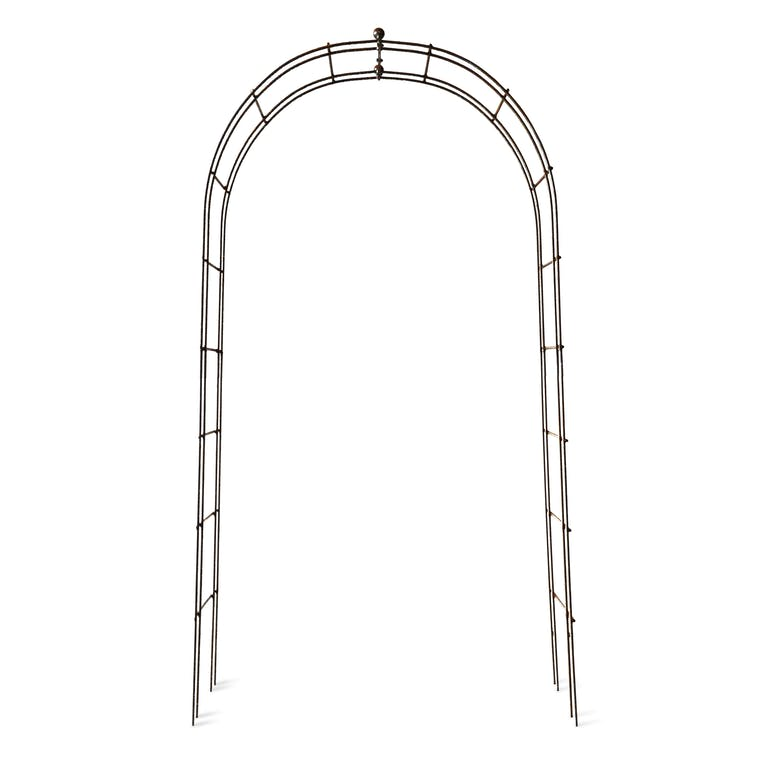 Raw Metal Barrington Rose Arch | Garden Trading