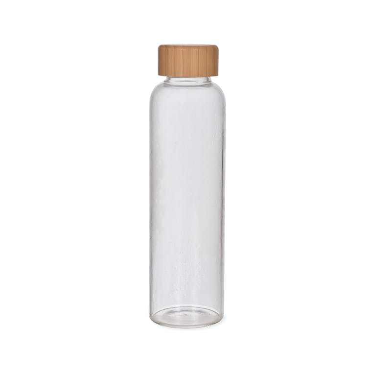 Glass Bottle with Bamboo Lid | Garden Trading