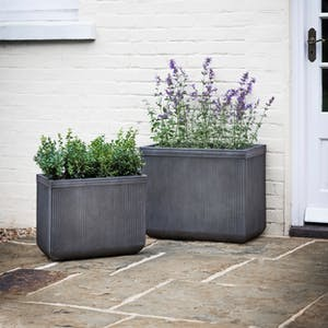 Set of 2 Bathford Rectangular Planters