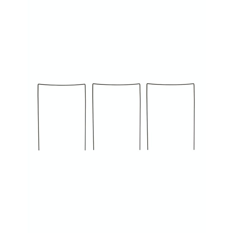Steel Set of 3 Plant Restraints in Small or Large| Garden Trading