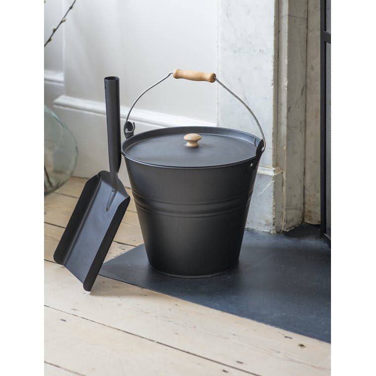 Garden Trading Fireside Bucket with Lid