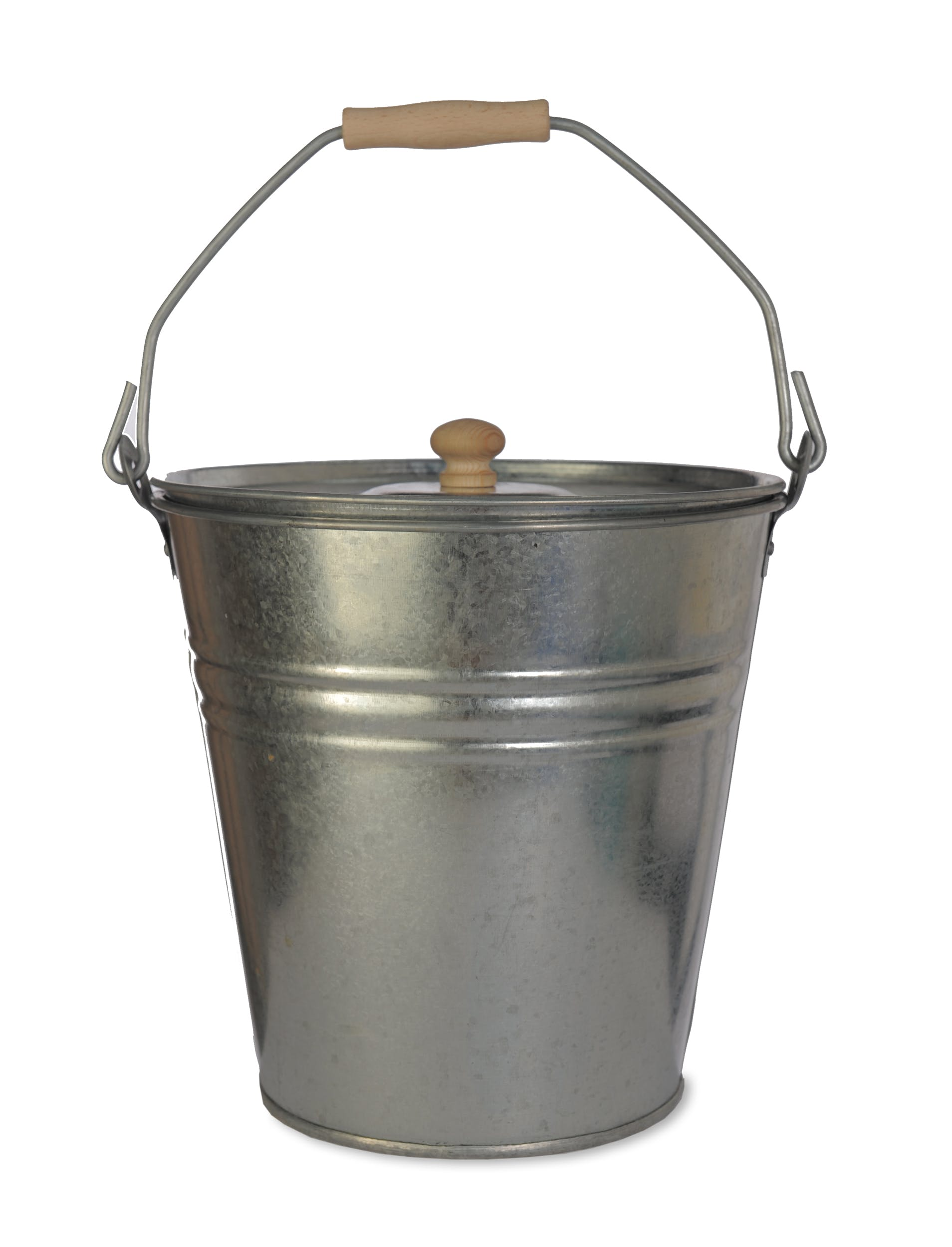 Galvanised Bucket with Lid  | Garden Trading