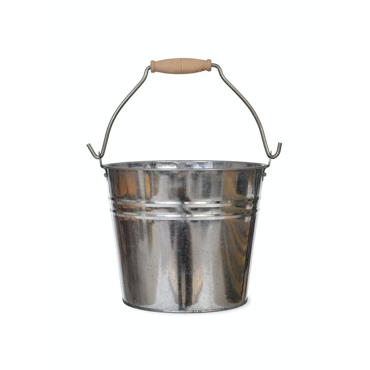 Galvanised Bucket in 1.25 and 4.5 Litre | Garden Trading