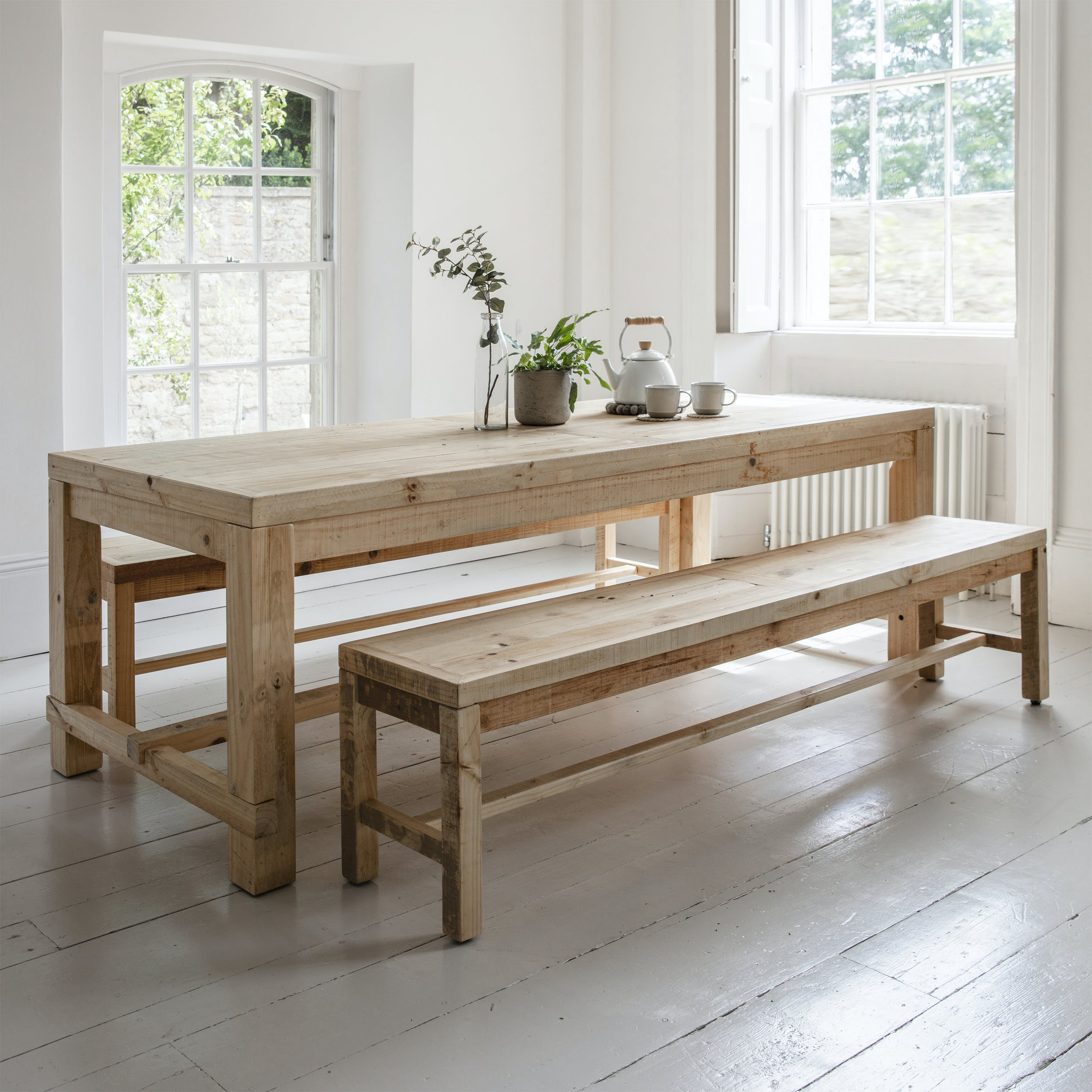 Fantastic Brookville Table And Bench Set Gmtry Best Dining Table And Chair Ideas Images Gmtryco